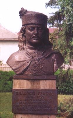 Rákóczi Ferenc mellszobor